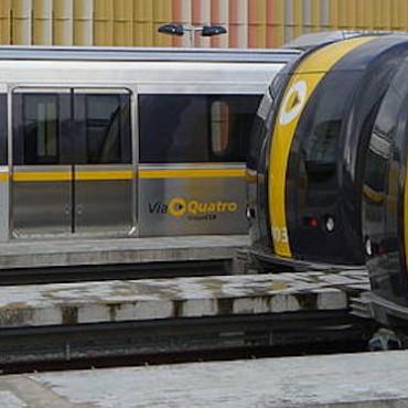 São Paulo subway cars. © Luis F. Gallo (CC-BY-2.0)
