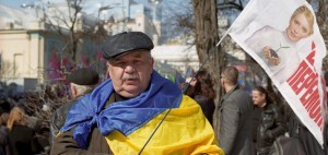 Tymohenko supporter in Kiev © Ivan Bandura/Flickr