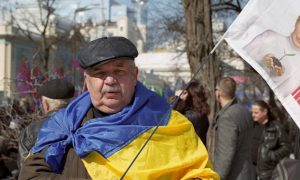 Tymohenko supporter in Kiev © Ivan Bandura/Flickr