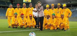 Kick it like Rousseff © Roberto Stuckert Filho/PR