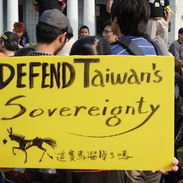 Protests against a new trade agreement between Taiwan and China, Taipei, March 2014 © Tenz1225 via Flickr (CC BY-SA 2.0)