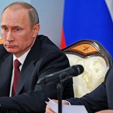 Vladimir Putin and the Armenian president Serzh Sargsyan, December 2013 © The Presidential Press and Information Office