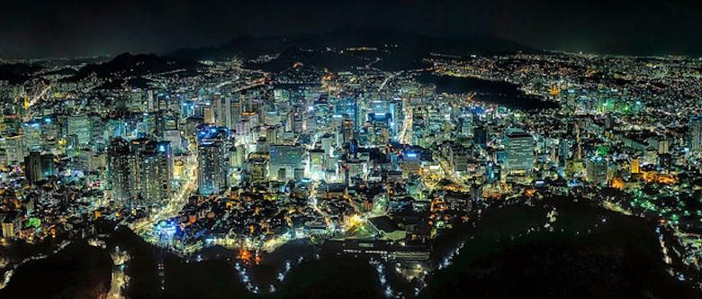 Seoul, South Korea's capital city © Clint Sharp via Flick (CC BY-NC-SA 2.0)
