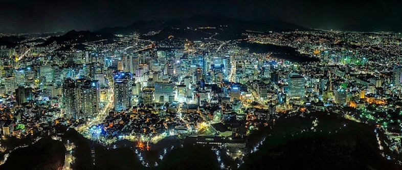 Seoul, South Korea's capital city © Clint Sharp via Flick (CC BY-NC-SA 2.0)