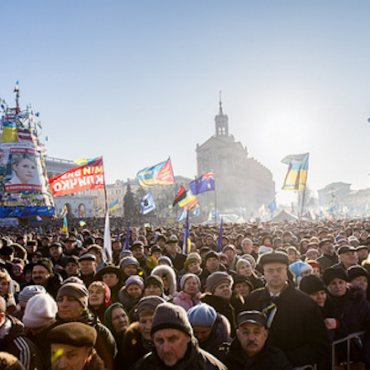 Anti-government protests in Kiev, December 2013 © Maksymenko.com.ua via Flickr (CC BY 2.0)