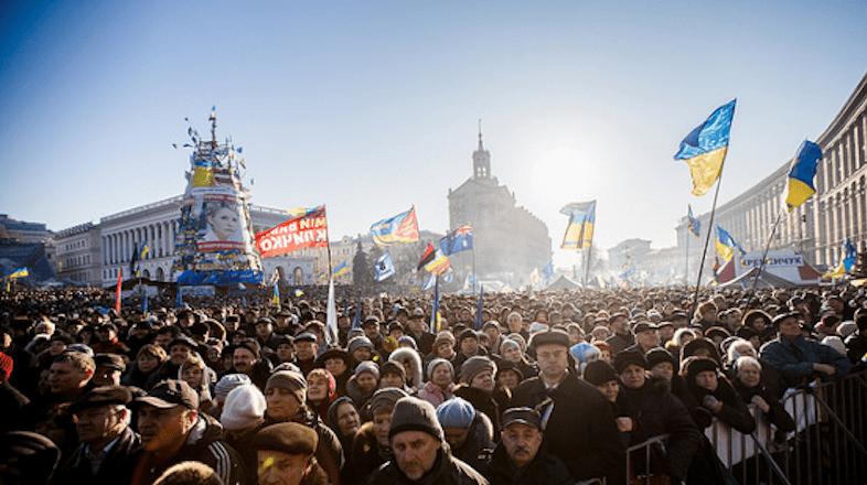 Anti-government protests in Kiev, December 2013 © Maksymenko.com.ua via Flickr (CC BY 2.0)