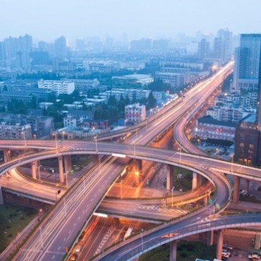 City Scape of the Hangzhong road, China ©veer/veerguy