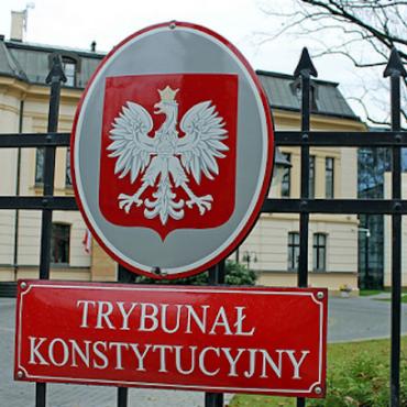 Poland's Constitutional Tribunal in Warsaw © polen-heute.de (CC BY-SA 2.0)