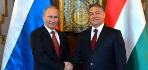 Russian President Vladimir Putin (left) with the Hungarian Prime Minister Viktor Orbán © kremlin.ru