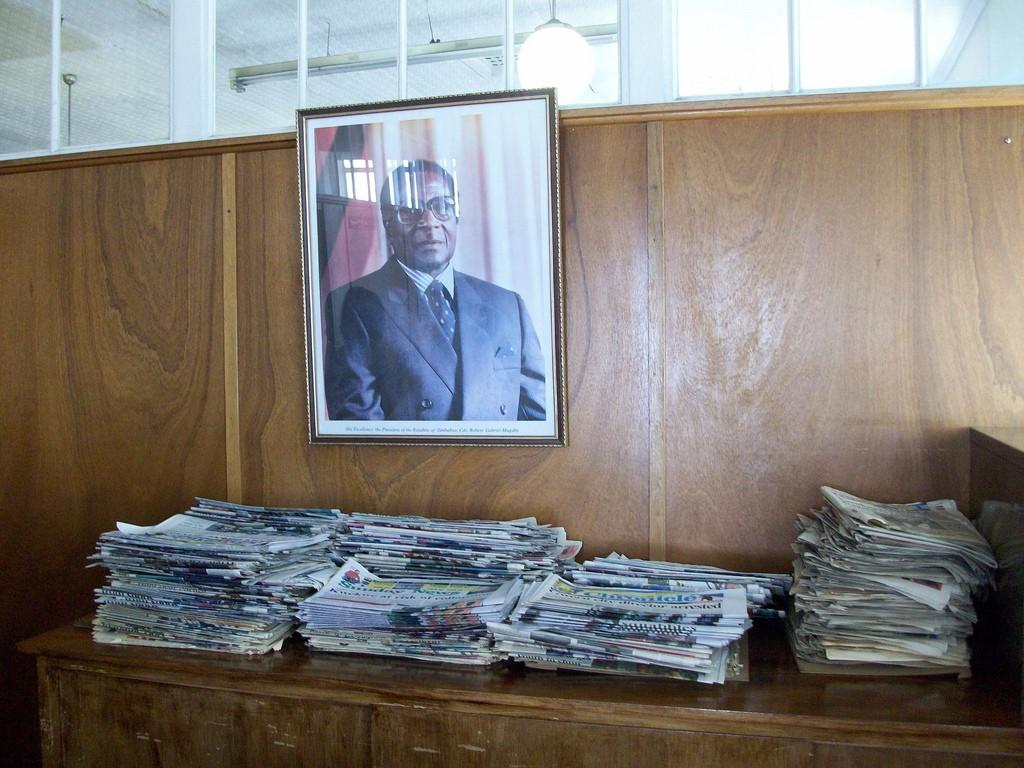 Visit to The Chronicle & The Sunday News office in Bulawayo, Zimbabwe