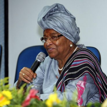 Photo: President of Liberia Ellen Jonhson-Sirleaf