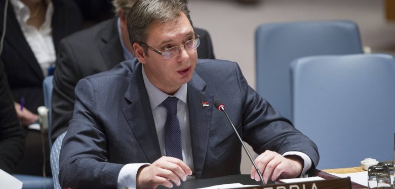 Image result for vucic in un