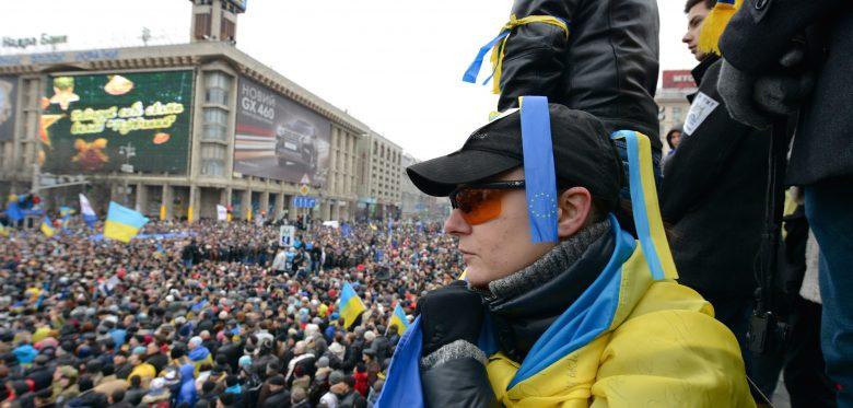Euromaidan, Kiev 2013. By Ivan Bandura via flickr.com, CC BY 2.0