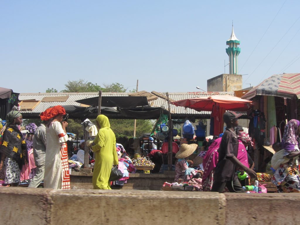 Market in Bamako, photo by Susanne Schultz