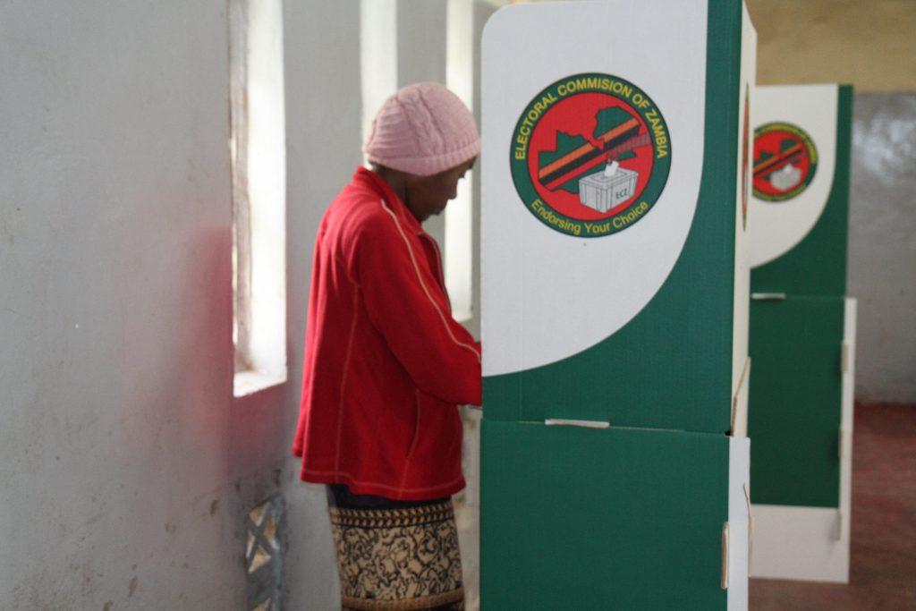 Zambians vote for new president